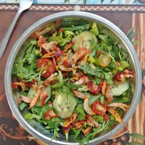 tandoori chicken salad | foodgawker