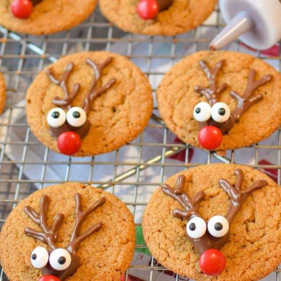Easy Gingerbread Reindeer Cookies Foodgawker