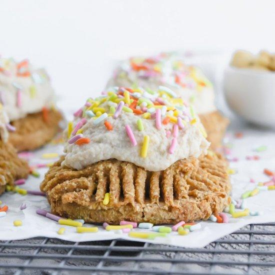 Brilliant Vegan Birthday Cake Poptarts Foodgawker Funny Birthday Cards Online Necthendildamsfinfo